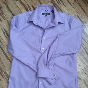 KENNETH COLE REACTION Slim fit wrinkle free shirt